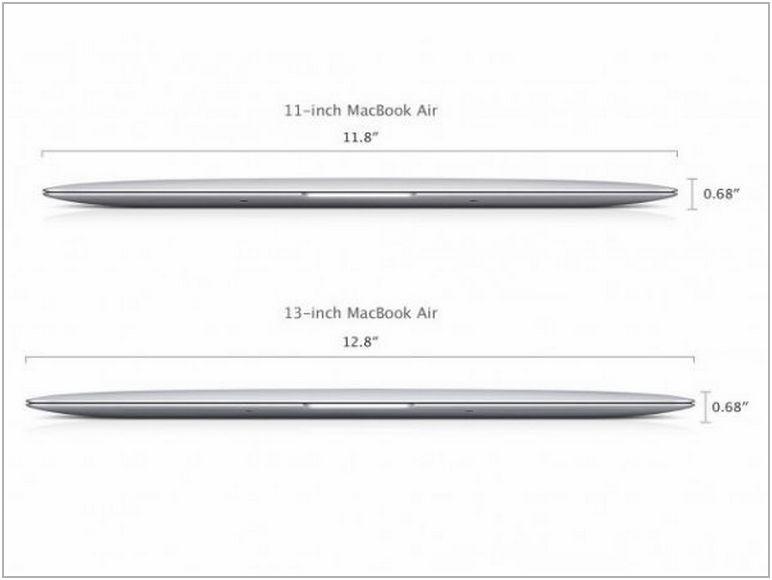 Macbook Air Dimensions