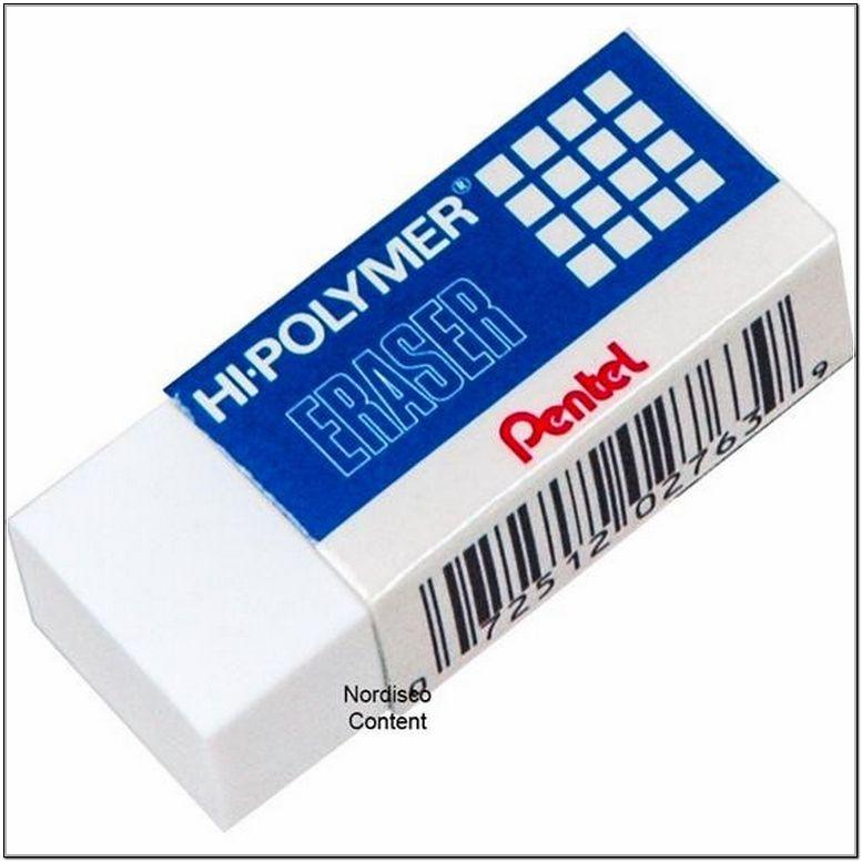 White Polymer Eraser